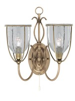silhouette double wall light