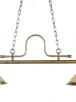 French antique brass double pendant €357