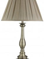 Table Lamps, Antique Brass/brass/bronze