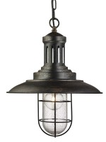 Pendant Lights, Black/Black Chrome