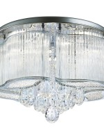 Flush Light Fitting crystal