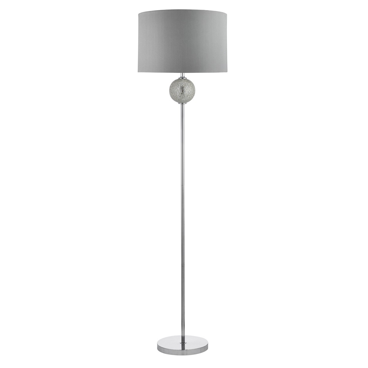 Good SILVER FLOOR LAMP WITH MOSAIC BALL DESIGN