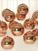 copper light fittings