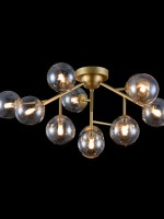 Flush Light fitting Brass/Gold